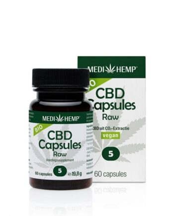 Medihemp 60 stuks CBD-capsules 5%