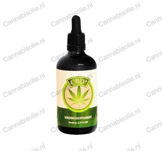 Jacob Hooy CBD-olie 100 ml