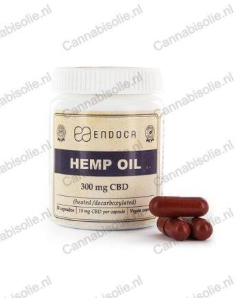 Endoca CBD-capsules - Cannabisolie.nl