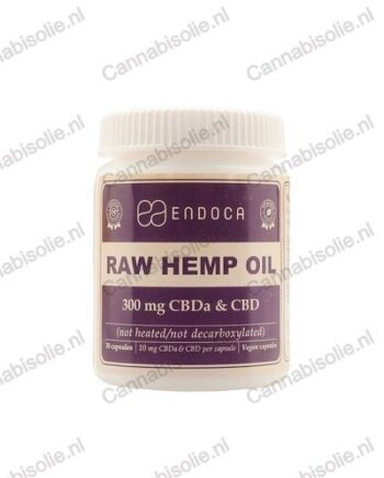Endoca CBD-capsules raw - 300 Mg - cannabisolie.nl