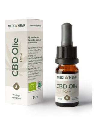 Medihemp CBD-olie 10 ml - 5% CBD