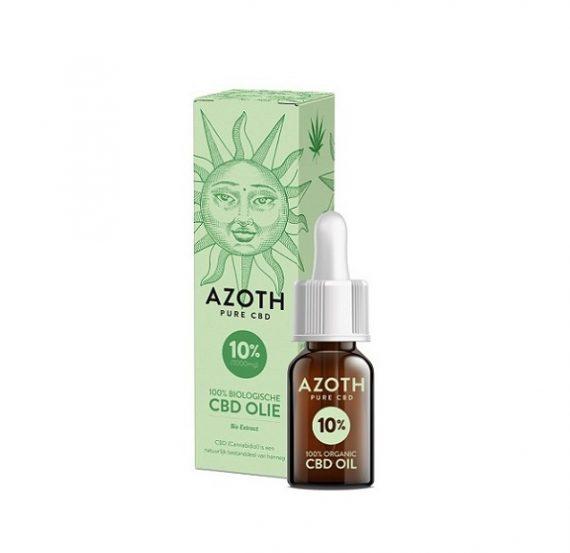 Azoth CBD-olie 10 ml met 10% CBD