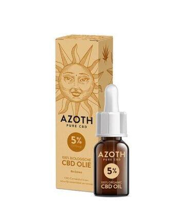 Azoth CBD-olie 10 ml met 5% CBD