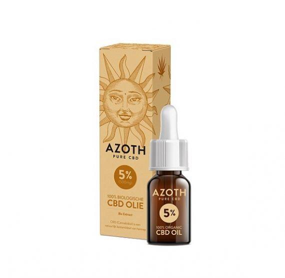 Azoth CBD-olie 10 ml met 5% CBD