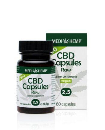 Medihemp 60 stuks CBD-capsules 2,5%