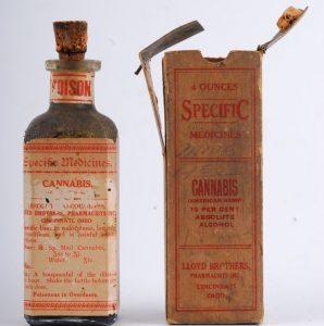 Cannabisolie flesje vroeger