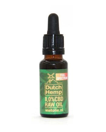 Dutchhemp-CBD-olie-raw-20-ml-8-procent-naturel
