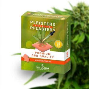 CBD pleisters - 14 stuks - (50 mg CBD per pleister) - premium