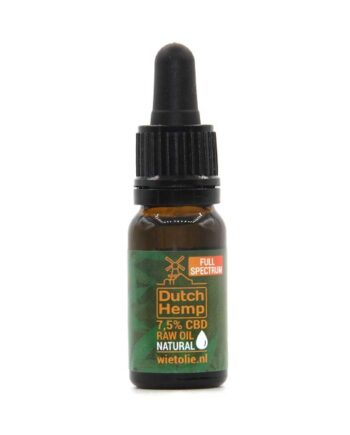 Dutchhemp-CBD-oil-raw-10-ml-7-5-pour-cent-naturel