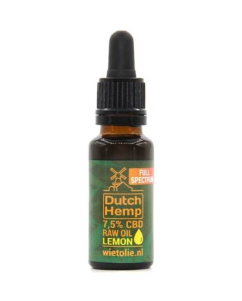 Dutchhemp-CBD-olie-raw-20-ml-7-5-procent-citroen