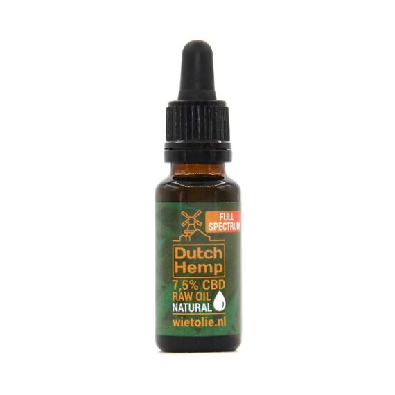 Dutchhemp-CBD-olie-raw-20-ml-7-5-procent-naturel