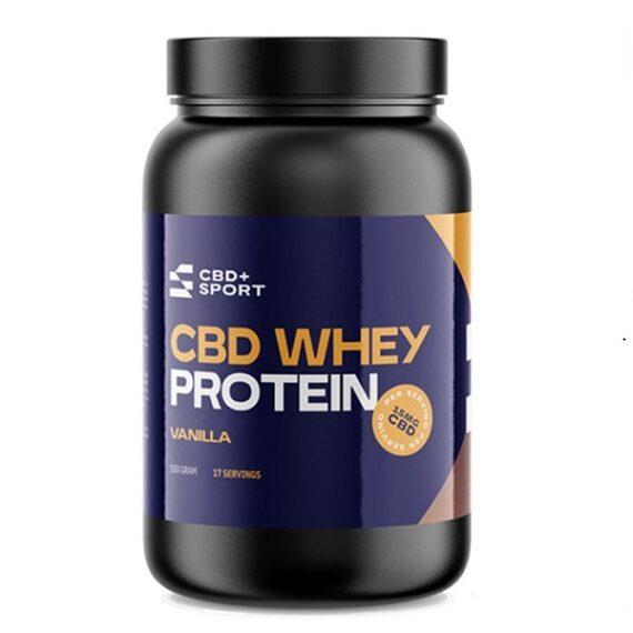 CBD Whey Protein - CBD+sport