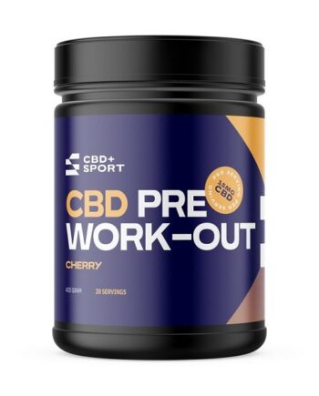 CBD pre workout CBD+sport