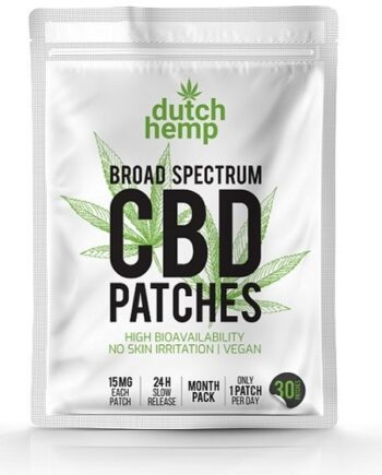 Dutch Hemp CBD pleisters 450 mg CBD