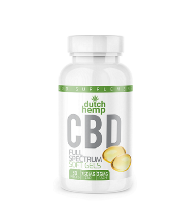 Dutch Hemp CBD capsules