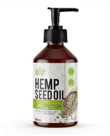 Dutch Hemp CBD hennepzaadolie