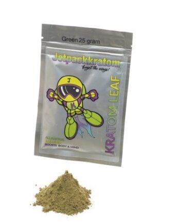 Jetpack-kratom-groen-green-vein-25-gram