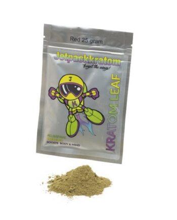 Jetpack-kratom-rood-red-vein-25-gram