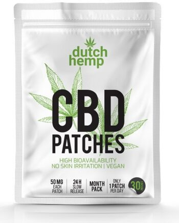 Dutch Hemp CBD patches 1500 mg