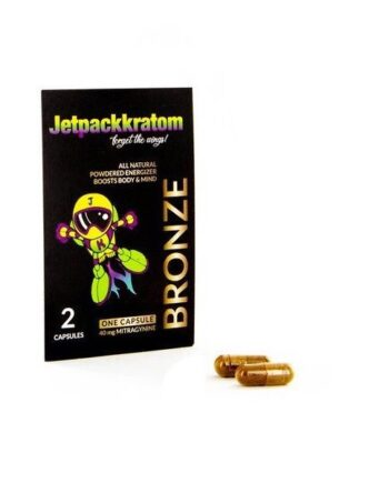 Kratom capsules (bronze) JetpackKratom