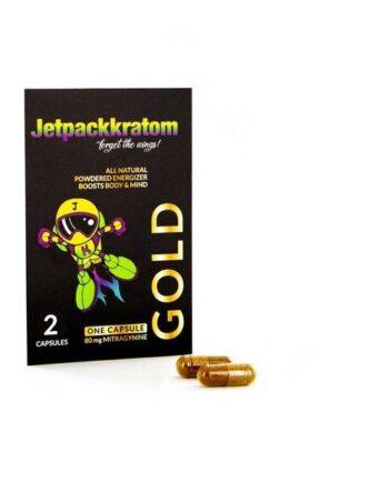 Kratom capsules (gold) JetpackKratom