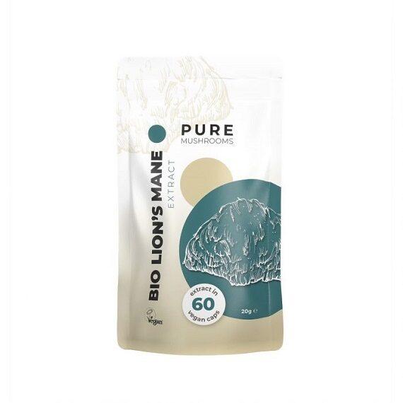 Pure Mushrooms Lion's Mane paddenstoel capsules