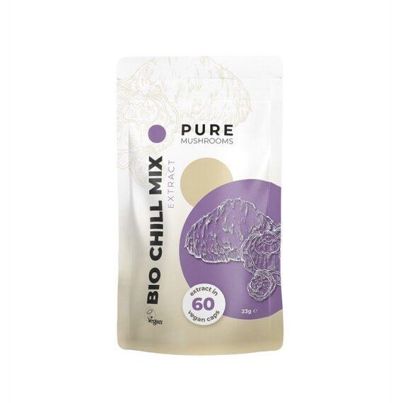 Pure-Mushrooms-Pure-Chill-Mix-paddenstoelen-extract-Bio-60-capsules