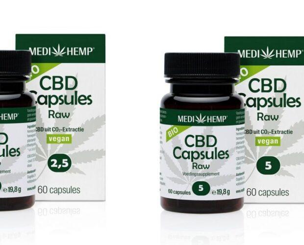 Medihemp CBD-capsules vernieuwde verpakking en samenstelling