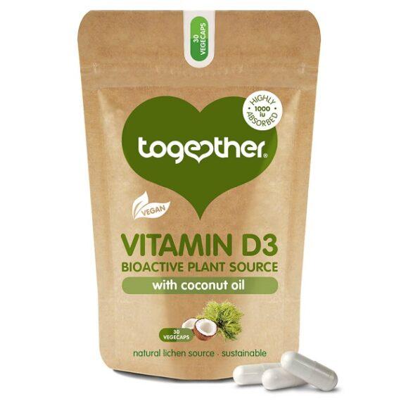 Together Vitamine D3 30 capsules
