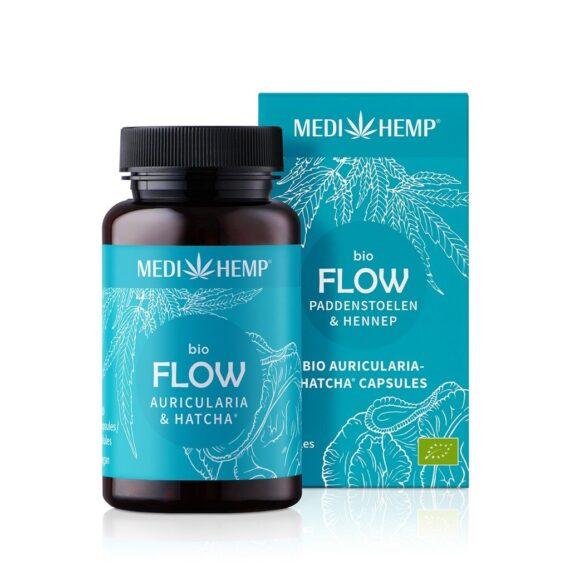 Medihemp Flow - Auricularia & Hennep Bio - 120 capsules