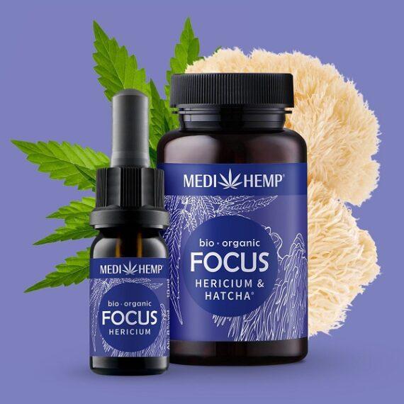 Medihemp Focus Hericium Hennep Bio 10 ml-1