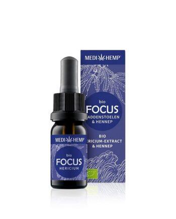 Medihemp Focus Hericium Hennep Bio 10 ml