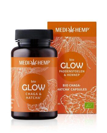 Medihemp Glow Chaga Hennep Bio 120 capsules