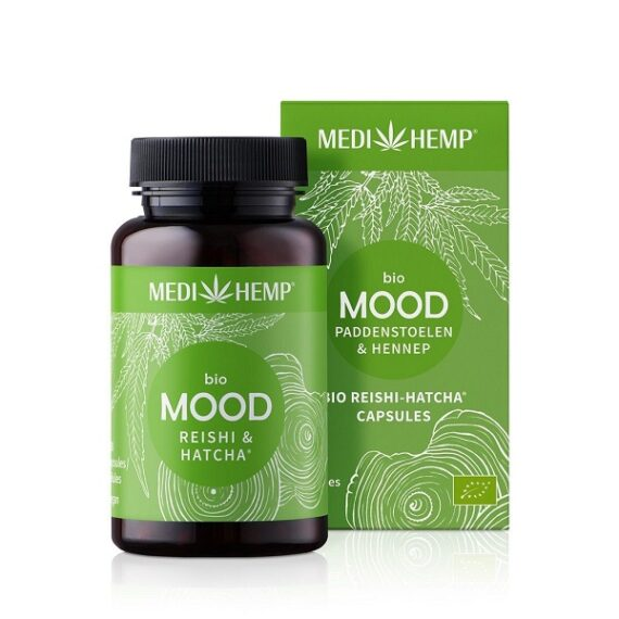 Medihemp Mood Reishi Hennep Bio 120 capsules