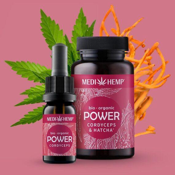 Medihemp Power Cordyceps Hennep Bio 10 ml 1