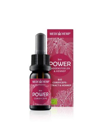 Medihemp Power Cordyceps Hennep Bio 10 ml