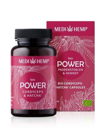 Medihemp Power Cordyceps Hennep Bio 120 capsules
